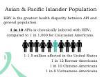 asian pacific islander population