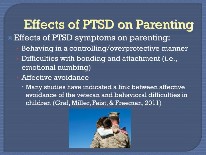 Effects of PTSD on Parenting