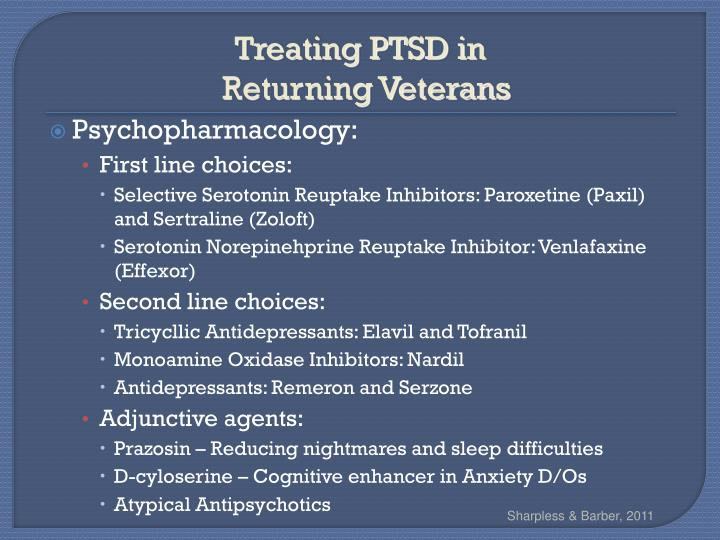 Treating PTSD in