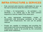 infra structure services