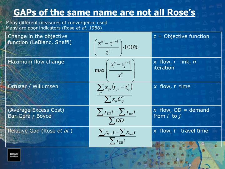 GAPs of the same name are not all Rose's