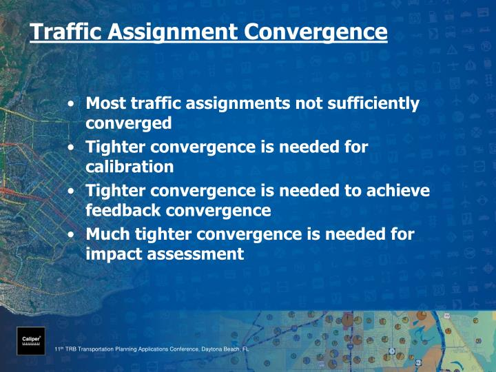 Traffic Assignment Convergence