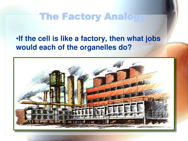 The Factory Analogy