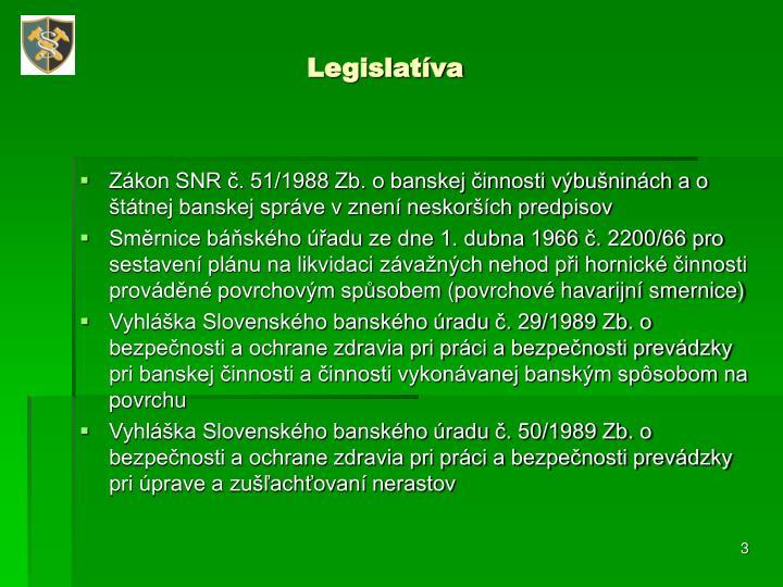 Legislatíva