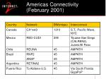 americas connectivity february 2001