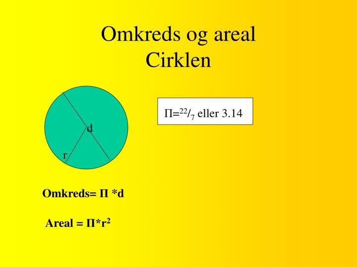 Omkreds og areal