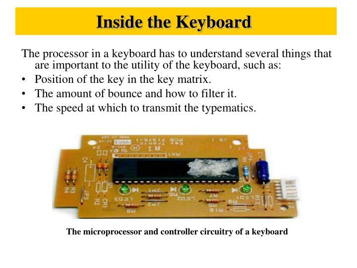 Inside the Keyboard