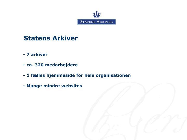 Statens Arkiver