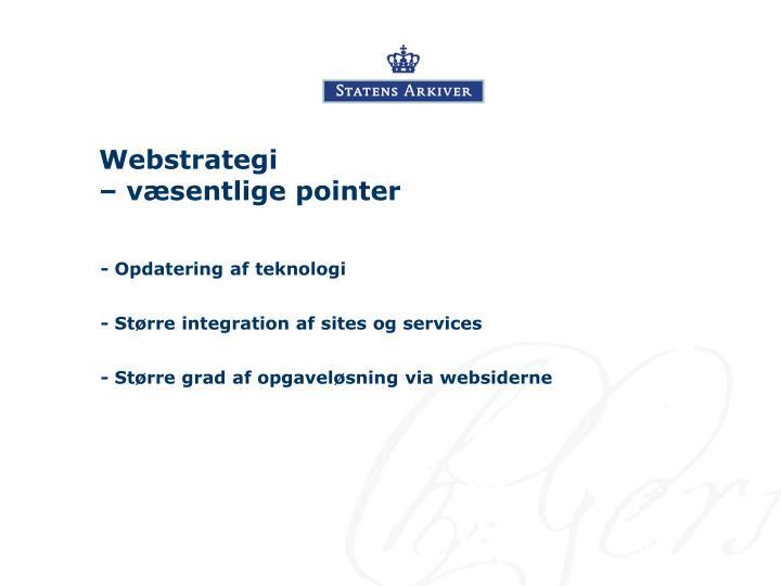 Webstrategi