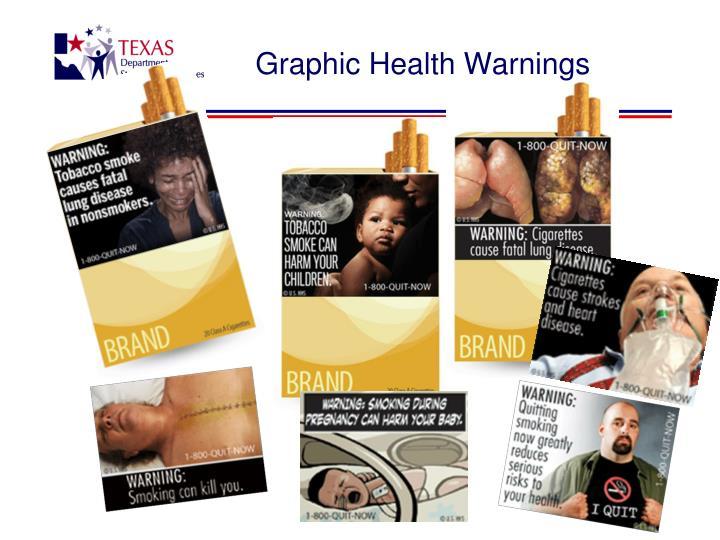 Graphic Health Warnings