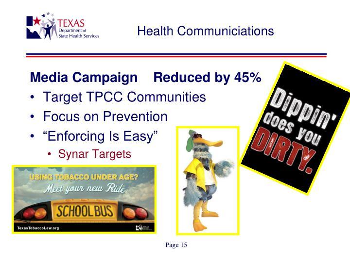 Health Communiciations