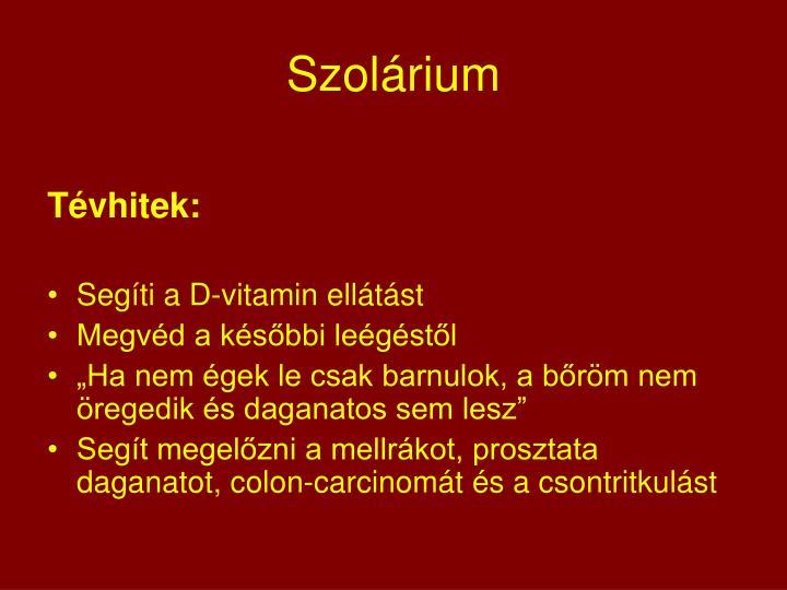 Szolárium