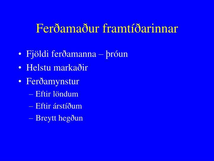 Ferðamaður framtíðarinnar