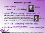more misc pi facts