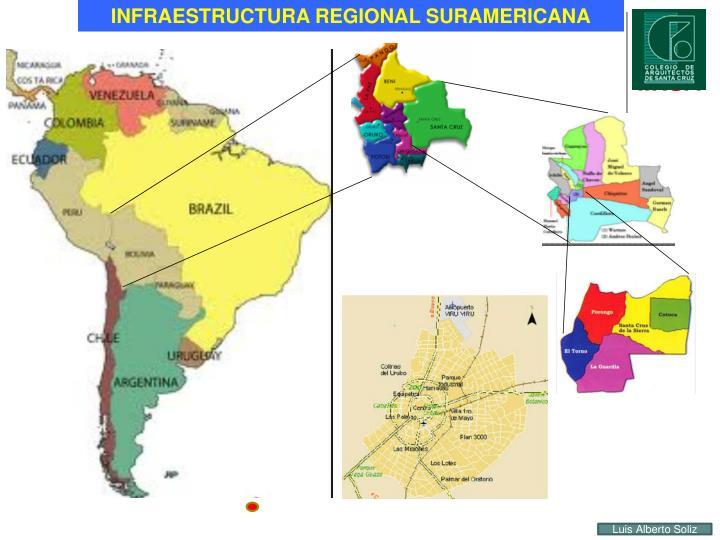 INFRAESTRUCTURA REGIONAL SURAMERICANA