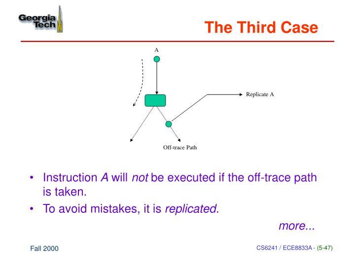 The Third Case