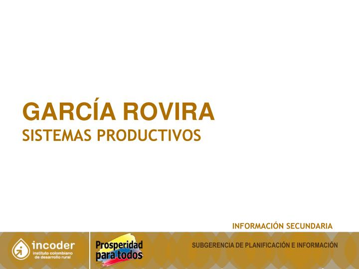 GARCÍA ROVIRA
