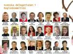 svenska delegationen i regionkommitt n
