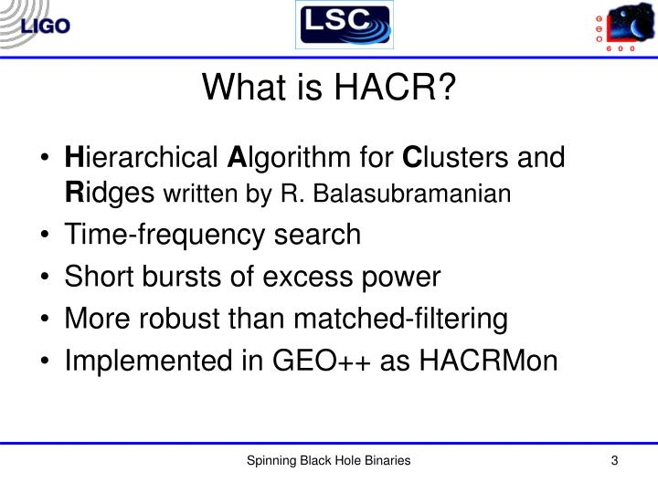 What is HACR?