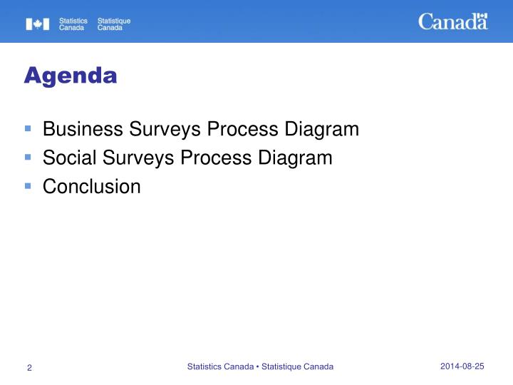 Business Surveys Process Diagram
