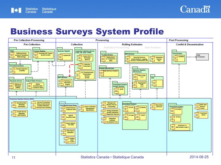 Business Surveys System Profile