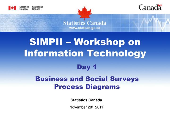 SIMPII – Workshop on Information Technology