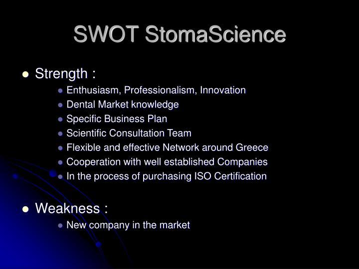 SWOT StomaScience