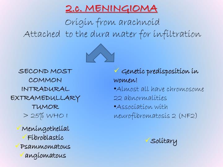 2.c. MENINGIOMA