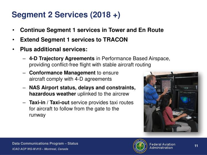 Segment 2 Services (2018 +)