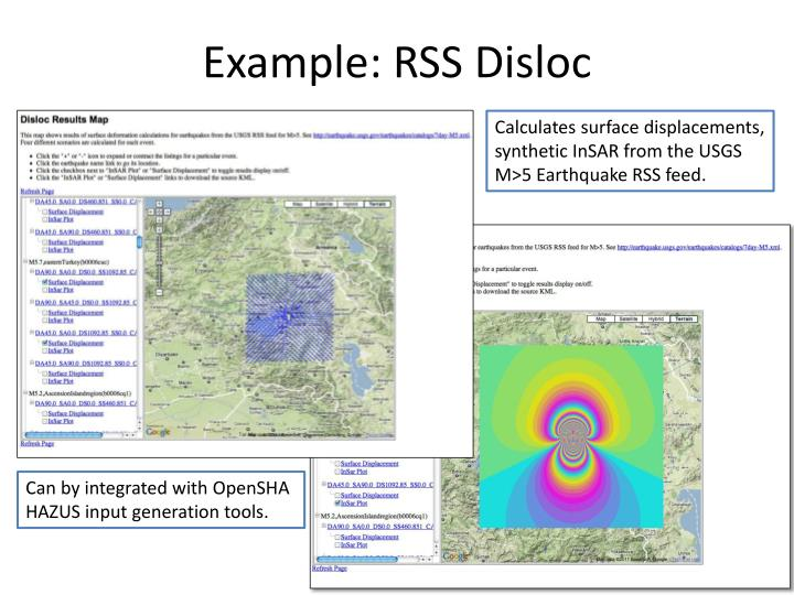 Example: RSS