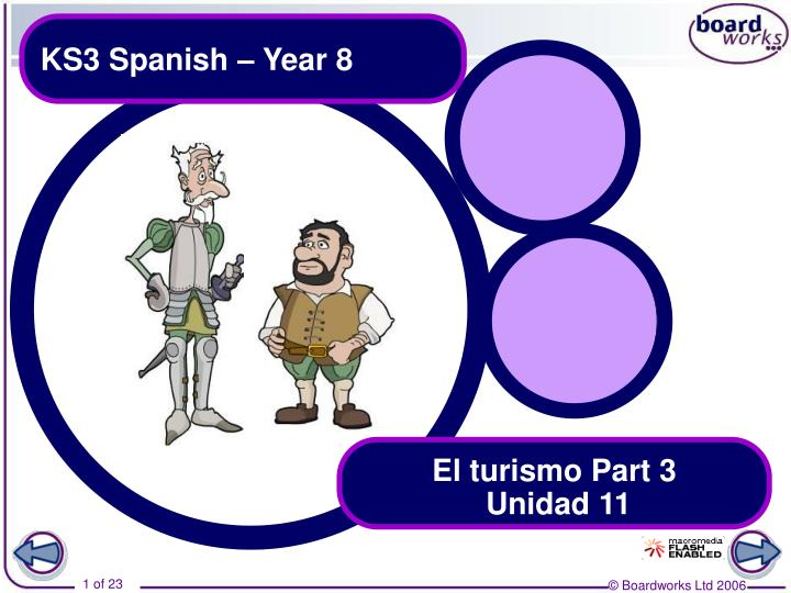 Ks3 spanish year 8