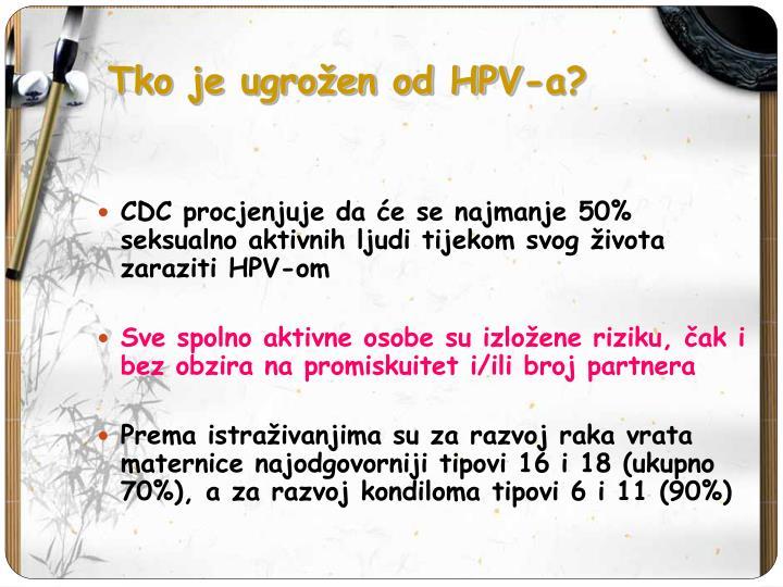 Tko je ugrožen od HPV-a?