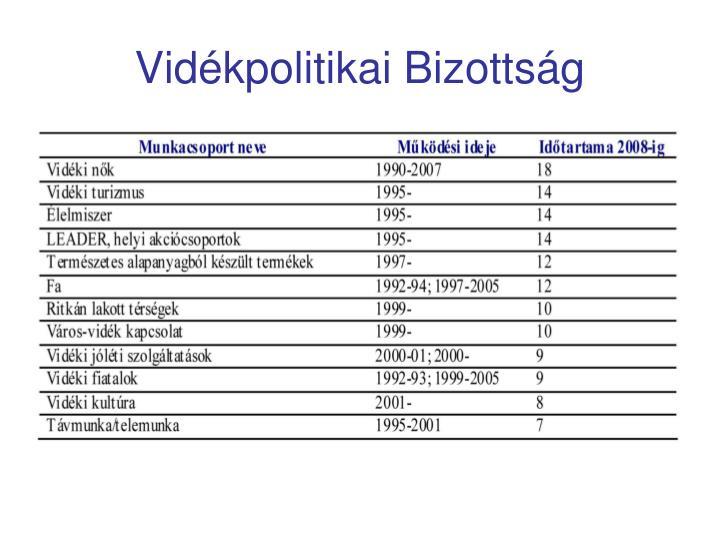 Vidékpolitikai Bizottság