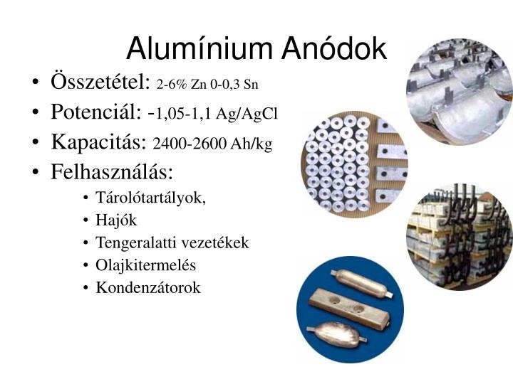 Alumínium Anódok