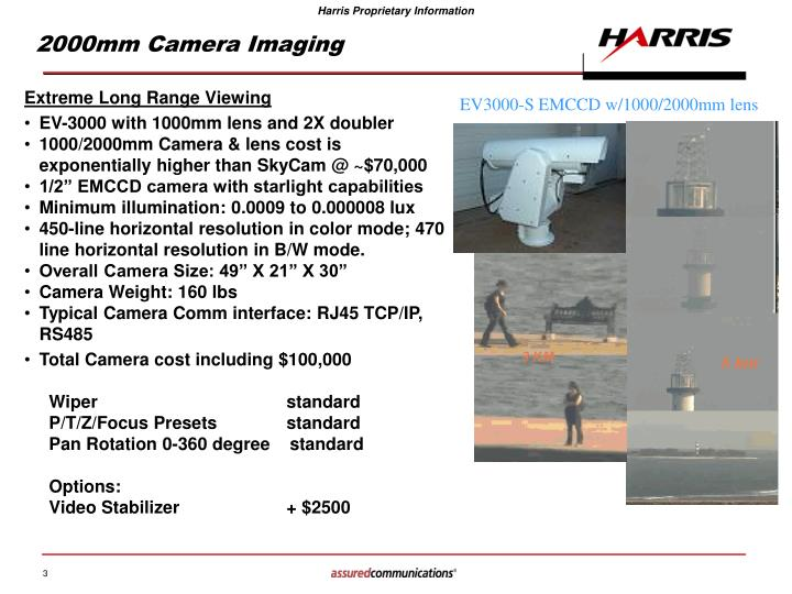 2000mm Camera Imaging