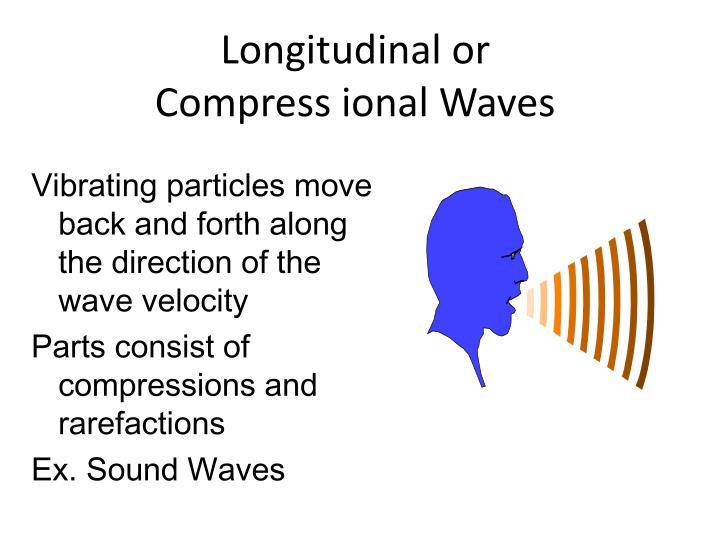Longitudinal or