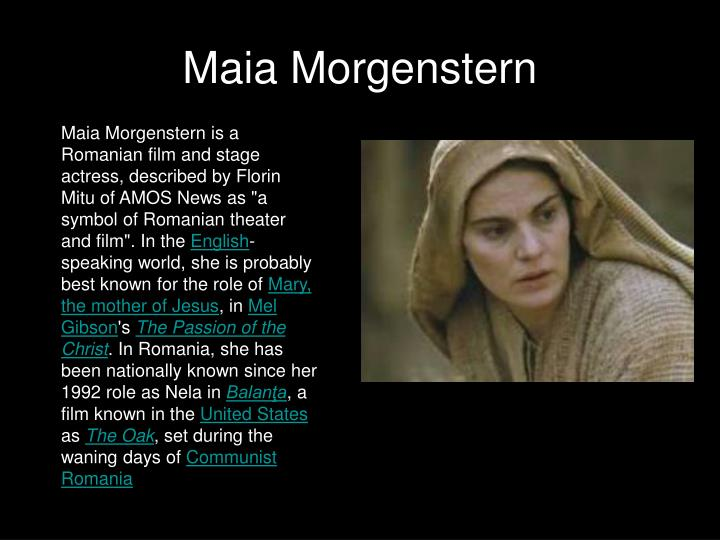 Maia Morgenstern