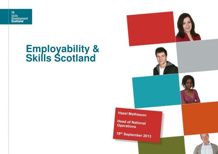 Employability & Skills Scotland