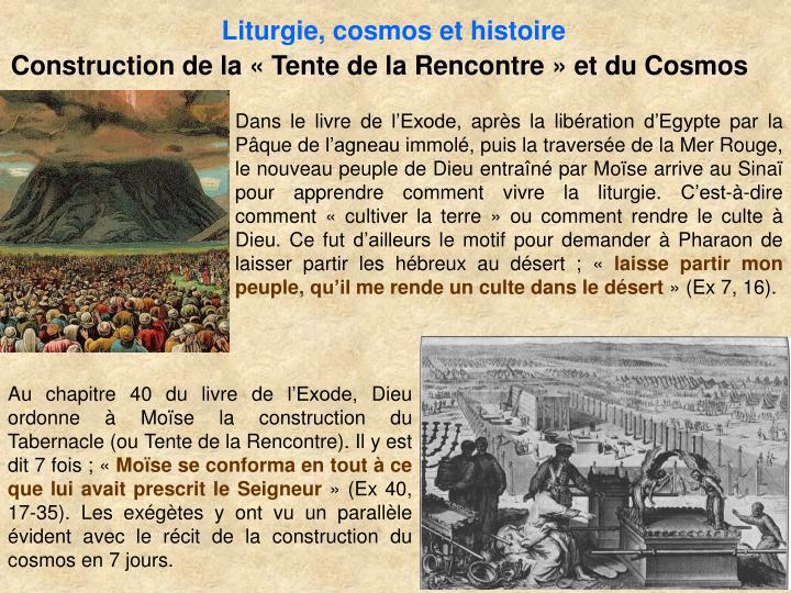 Liturgie, cosmos et histoire