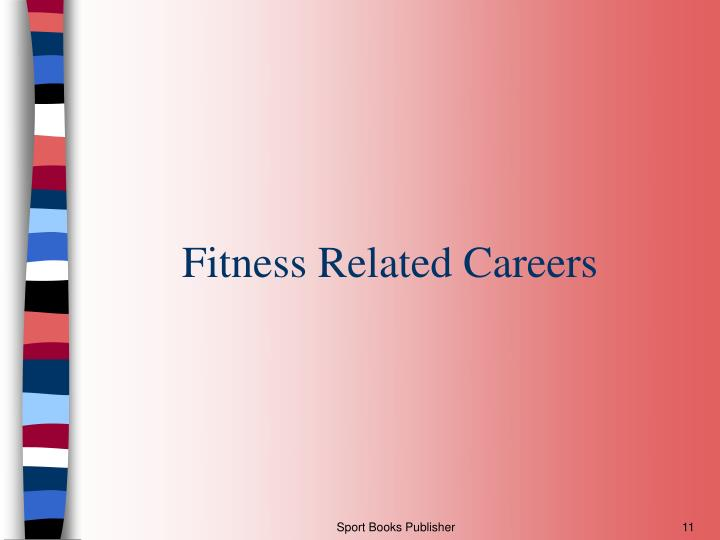 Fitness Related Careers