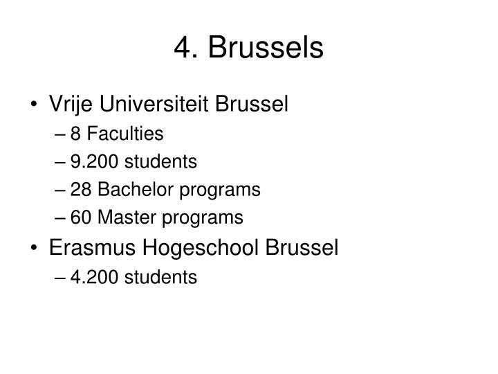 4. Brussels