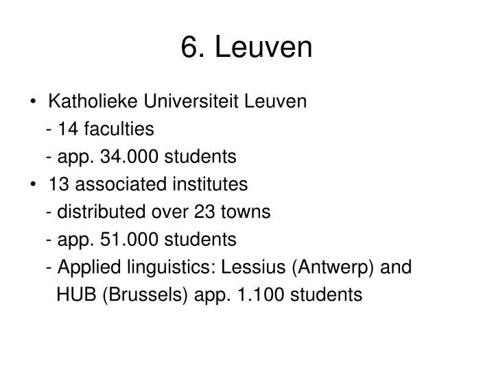 6. Leuven
