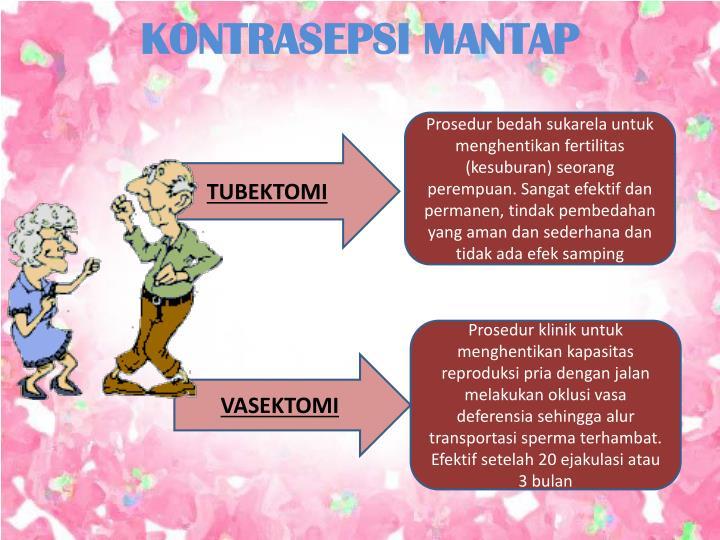 KONTRASEPSI MANTAP