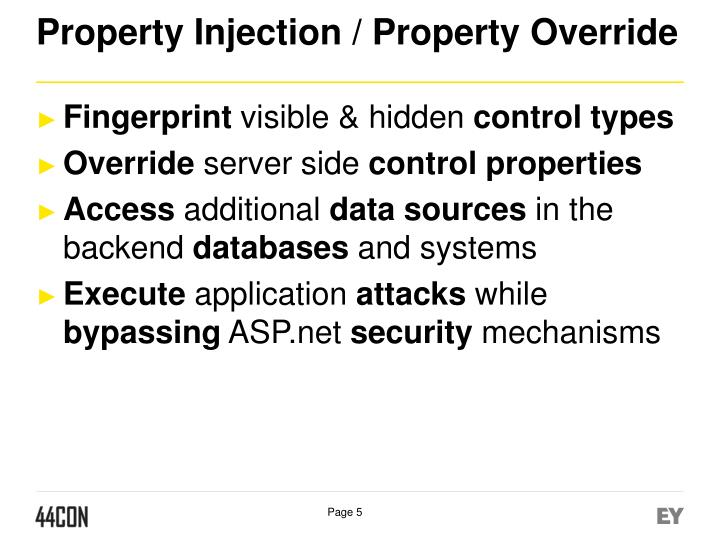 Property Injection /