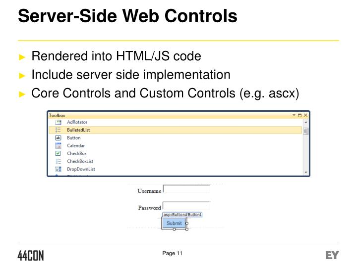 Server-Side Web Controls