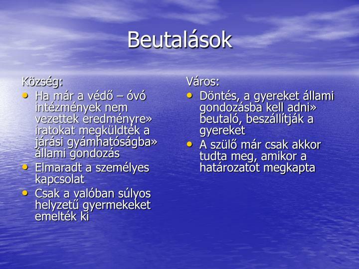 Község: