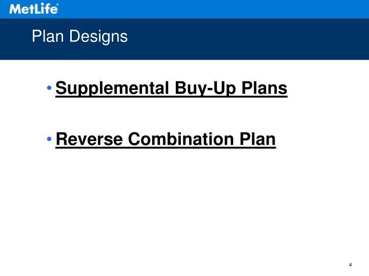 Plan Designs