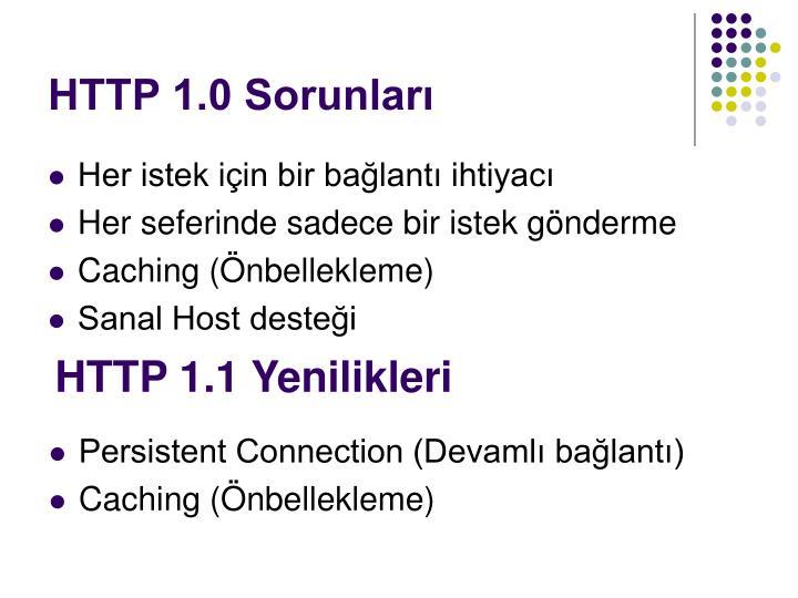 HTTP 1.0 Sorunları
