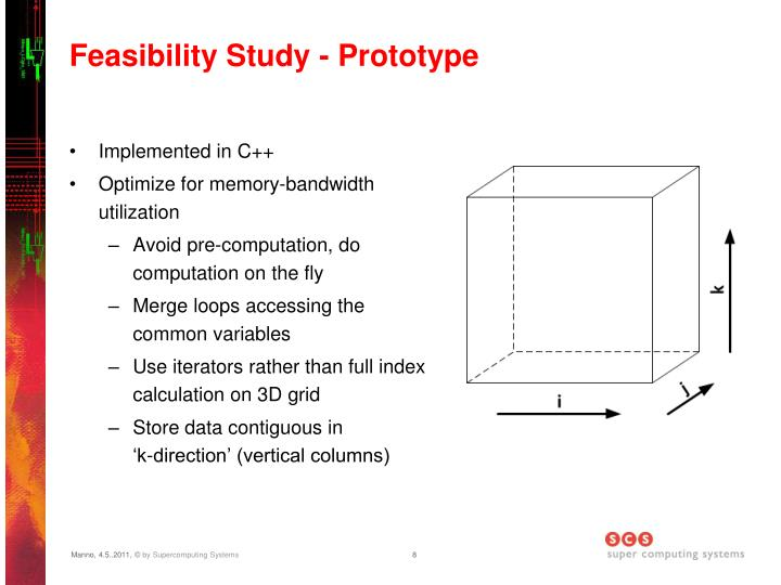Feasibility Study - Prototype
