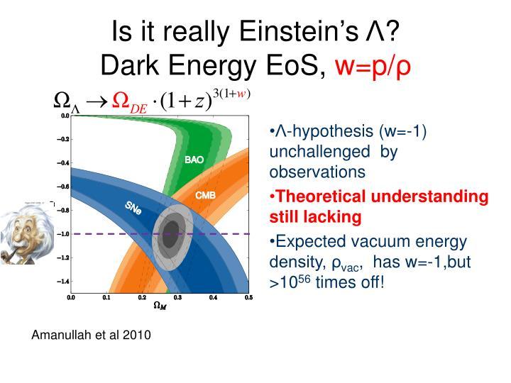 Is it really Einstein